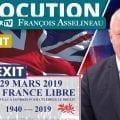 Point sur le Brexit et l'évènement UPR à Londres – Allocution de François Asselineau