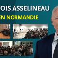 Récapitulatif des vidéos de la tournée de François Asselineau en Normandie