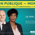 Réunion publique à Montreuil ce jeudi 16 mai 2019 à 19h avec François Asselineau, Vincent Brousseau et Martine Decius