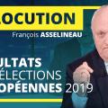 🔴 Réaction de François Asselineau aux résultats des élections européennes 2019