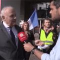Reportage de Quotidien sur TMC : Au meeting de François Asselineau, le monsieur Frexit des européennes