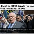 Succès de la grande manifestation du 1er mai de l'UPR : Le Figaro, Libération, Orange actualités, La Croix et 24 Matin nous consacrent des articles.
