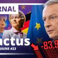 Moralisation politique – Services publics – Économie – UE – ADP : Les 5 actus de la semaine n° 23