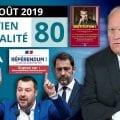 EA80 : Industrie française – ADP – Violences policières / Castaner – Macron – Italie – Brexit