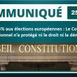 Seuil de 5 % aux élections européennes : Le Conseil constitutionnel n'a protégé ni le droit ni la démocratie.
