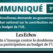 François Asselineau demande au gouvernement un grand débat national sur la contribution nette de la France au budget de l'UE.