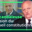 La scandaleuse décision du conseil Constitutionnel – Réaction de François Asselineau