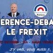 François Asselineau est l'invité du Parlement des étudiants de Poitiers pour une conférence-débat sur le Frexit