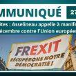 Retraites: Asselineau appelle à manifester le 5 décembre contre l'Union européenne.