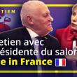 Entretien avec la présidente du salon Made in France : Fabienne Delahaye.