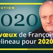 François Asselineau présente ses vœux aux Français le 31 décembre 2019 à 20 heures