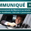 Renonciation de Macron à sa retraite ? Selon Asselineau, c'est une « provocation ».