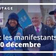 Manifestation du 10 décembre 2019 : Reportage