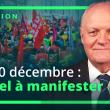 RENDEZ-VOUS POUR LA MANIFESTATION PARISIENNE DU MARDI 10 DÉCEMBRE 2019.