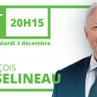 François Asselineau sera sur RT France ce mardi 3 décembre 2019 à partir de 20h15