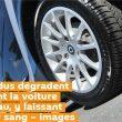 Des individus dégradent violemment la voiture d'Asselineau, y laissant même leur sang – images