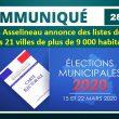 Communiqué de presse du vendredi 28 février 2020 – FRANÇOIS ASSELINEAU ANNONCE DES LISTES DÉPOSÉES DANS 21 VILLES DE PLUS DE 9 000 HABITANTS.