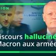 12 points scandaleux du discours de Macron devant les armées !