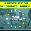 Comment et pourquoi l'hôpital public français est-il en train d'être détruit ?  Dossier établi par Hippocrate et la commission Santé de l'UPR.