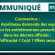 Communiqué de presse – François Asselineau demande des explications sur les antirétroviraux prescrits dans les décrets officiels : études d'efficacité ? Coût ? Effets secondaires ?