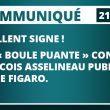 EXCELLENT SIGNE ! UNE « BOULE PUANTE » CONTRE FRANCOIS ASSELINEAU PUBLIÉE PAR LE FIGARO.