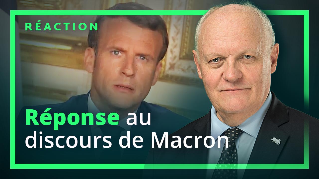 Analyse Du Discours De Macron Du 13 Avril 2020 Par Francois Asselineau Union Populaire Republicaine Upr