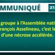 Un 10e groupe à l'Assembléenationale : pour François Asselineau, c'est le signe d'une nécrose accélérée.