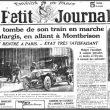UNE COMMÉMORATION OUBLIÉE PAR MACRON ! Il y a 100 ans, le président Paul Deschanel tombait de son train en marche…