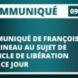 COMMUNIQUÉ DE FRANÇOIS ASSELINEAU AU SUJET DE L'ARTICLE DE LIBÉRATION PARU CE JOUR