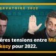 Premières tensions entre Macron et Sarkozy pour 2022