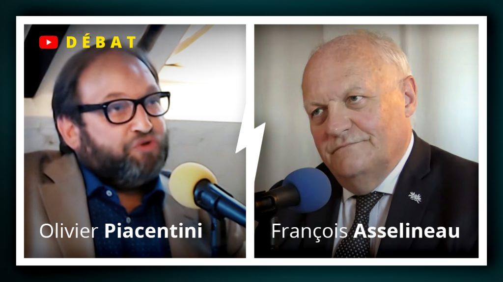 Débat entre François Asselineau et Olivier Piacentini