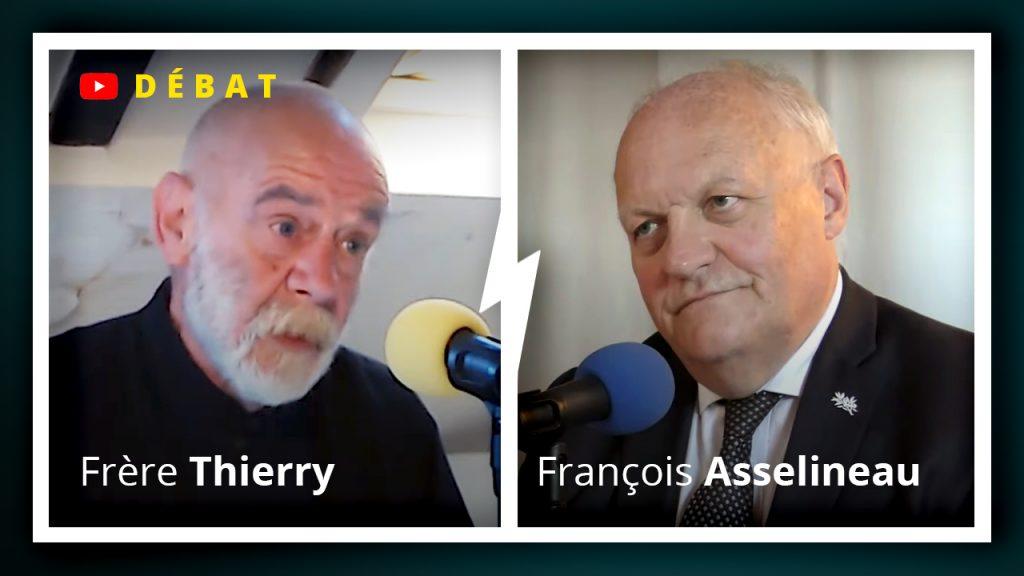 Débat entre  Frère Thierry et François Asselineau