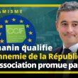 Darmanin qualifie « d'ennemie de la République » une association financée et promue par l'UE !