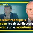 Reconfinement : Réaction de François Asselineau