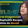 La liberté d'expression selon Raphaëlle Bacqué, journaliste du monde