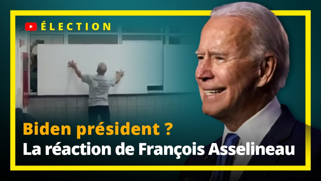 Joe Biden Président des Etats Unis ? François Asselineau nous donne son point de vue