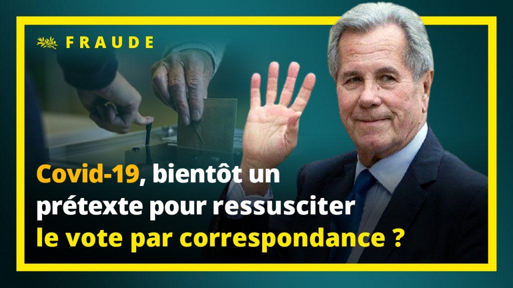 La Covid-19 bientôt un prétexte pour ressusciter le vote par correspondance