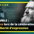 LE COMBLE : POUR CÉLÉBRER LA LIBERTÉ D'EXPRESSION, RIEN DE MIEUX QUE LA CENSURE !