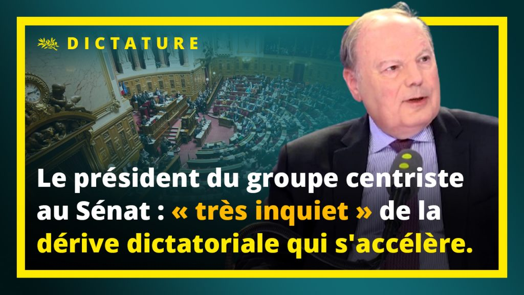 Hervé Marseille se dit très inquiet de la dérive dictatoriale qui s'accélère.