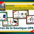 À l'occasion des fêtes, la boutique de l'UPR vous propose des offres exclusives