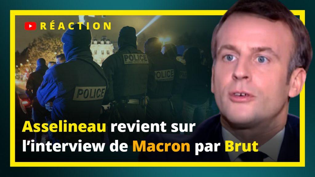 Asselineau revient sir l'interview de Macron par Brut