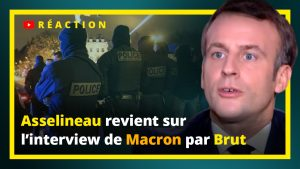 Asselineau revient sir l'interview de Macron par Brut