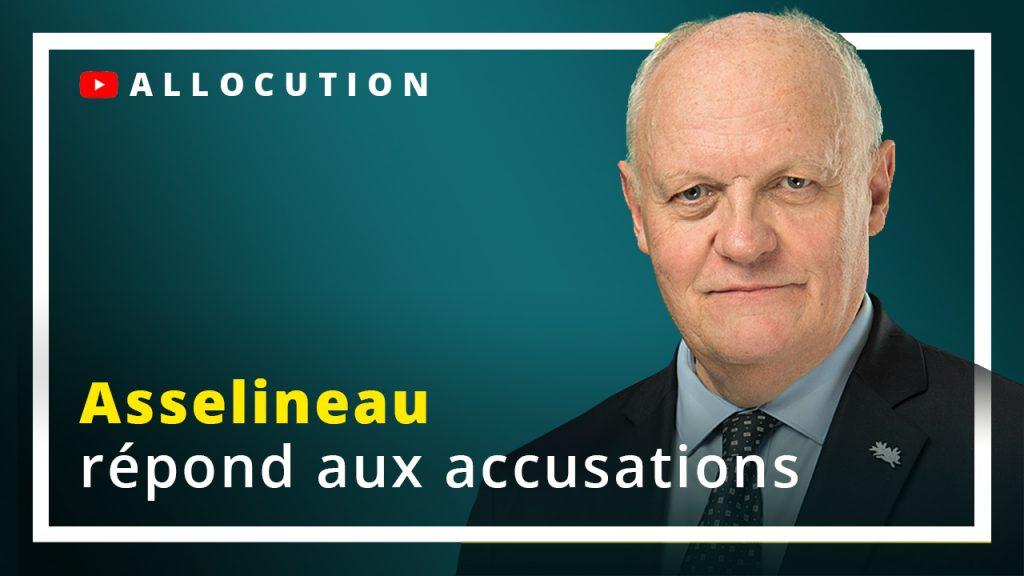 Asselineau répond aux accusations