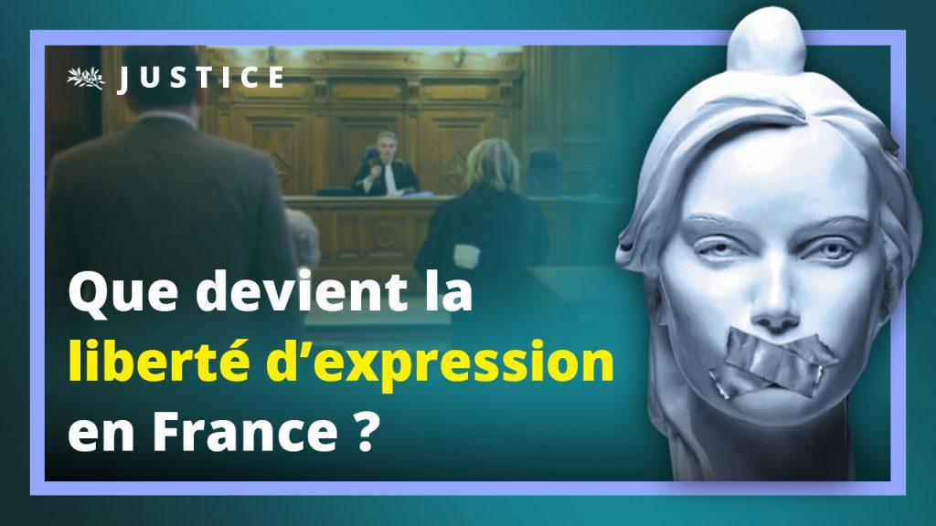 Que devient la liberté d'expression en France ?