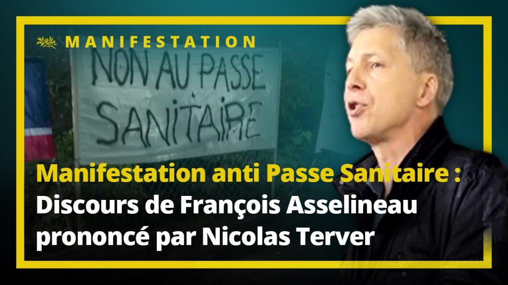 Manifestation anti Passe sanitaire