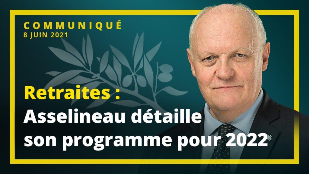 Retraites: Asselineau détaille son programme pour 2022