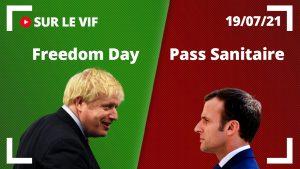 Pendant que le Conseil d'État valide le Pass Sanitaire, le Royaume-Uni met fin aux restrictions