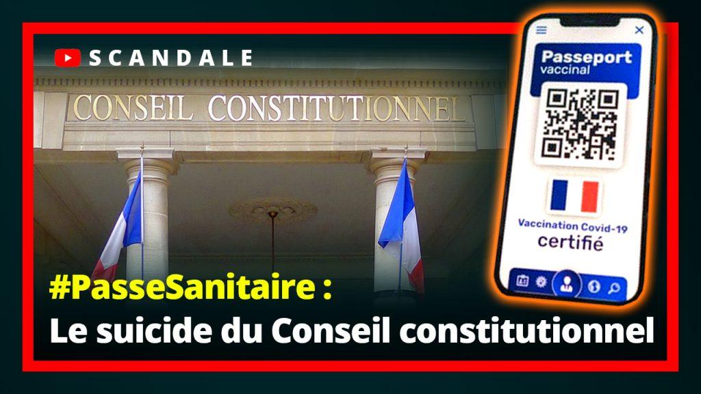 Scandale : Le Conseil constitutionnel valide le #PasseSanitaire