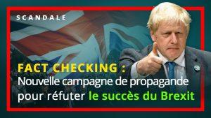Nouvelle campagne de propagande pour réfuter le succès du Brexit