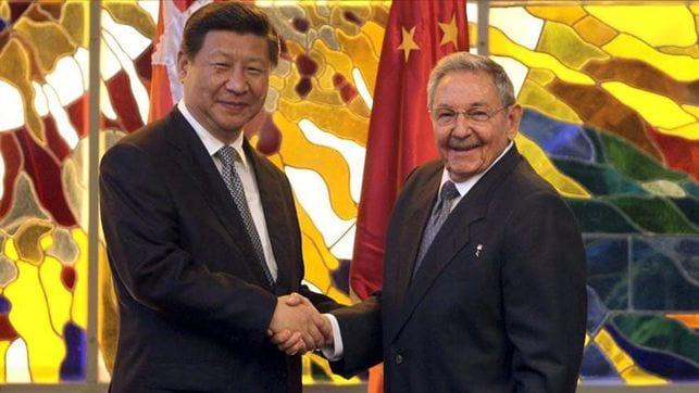 7- Xi Jinping et Fidel Castro
